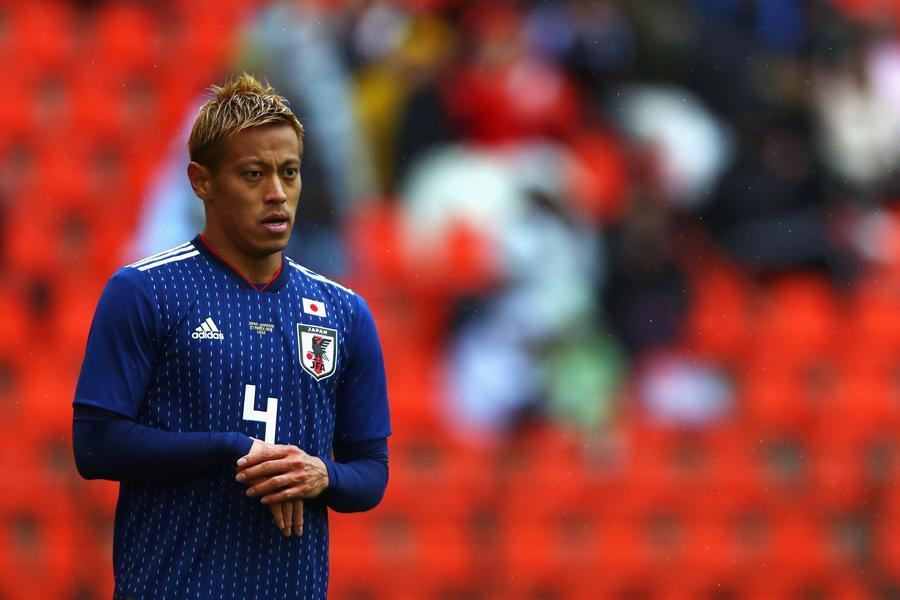ブラジルメディアは本田を日本のキーマンと報じている【写真:Getty Images】