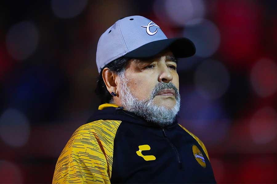アルゼンチンの英雄・マラドーナ氏【写真:Getty Images】
