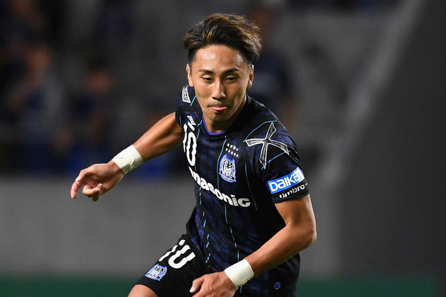 ガンバ大阪は、MF倉田の決勝ゴールで8試合ぶりの勝利となった【写真:Getty Images】