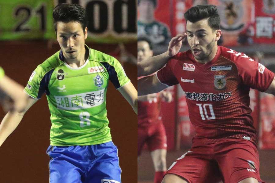 湘南ベルマーレ(左)の初優勝か、名古屋オーシャンズ(右)の3連覇か【写真:河合拓/Futsal X】