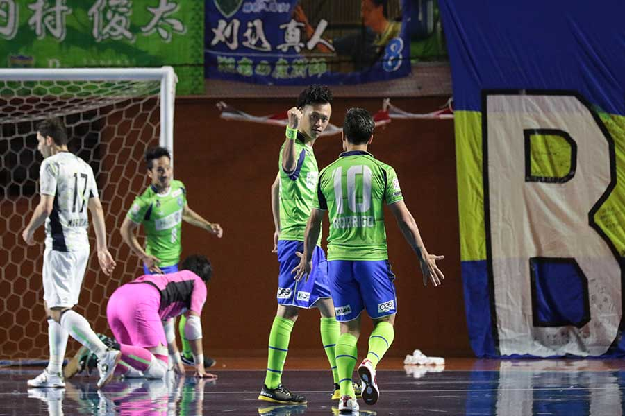 湘南が悲願の初タイトルを獲得できるか【写真:河合拓/Futsal X】