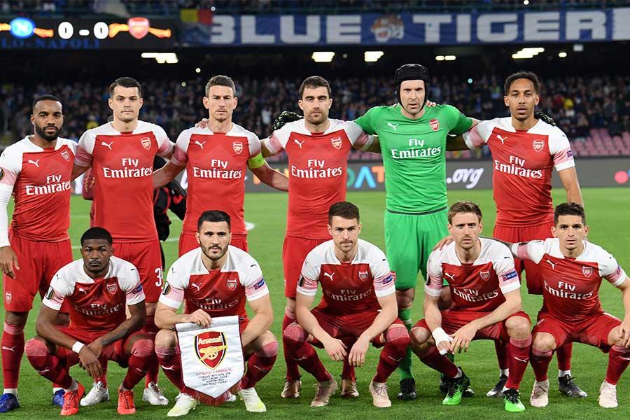 アーセナル側は2300枚のチケットが売れ残り、UEFA側に返還したようだ【写真:Getty Images】