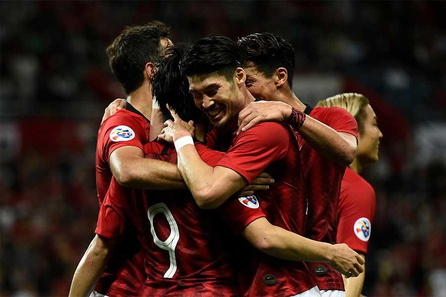 浦和が北京国安を3-0で下し、グループステージ2位通過でラウンド16への進出を決めた【写真:Getty Images】