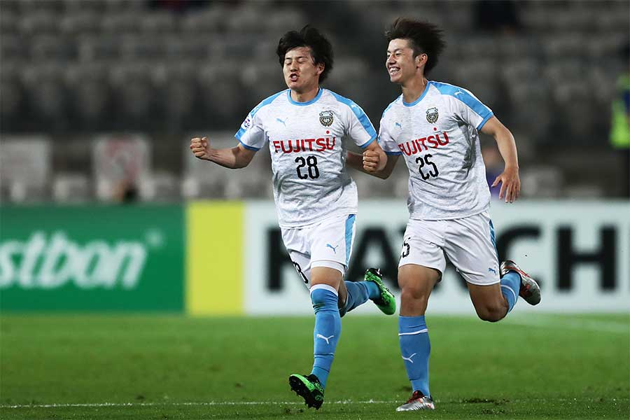 MF脇坂が2ゴールを挙げた【写真:Getty Images】