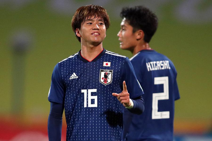 U-20W杯日本代表の初戦は、MF山田康太のゴールで引き分けスタートとなった【写真:Getty Images】