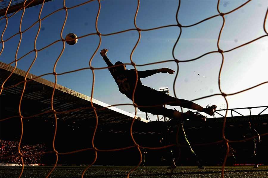 アメリカの高校サッカーで衝撃の珍ゴールが生まれた(写真はイメージです)【写真:Getty Images】