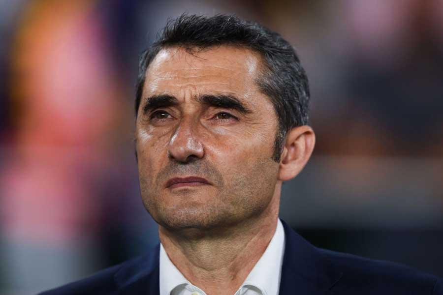 バルセロナのバルベルデ監督が来季も続投か【写真:Getty Images】