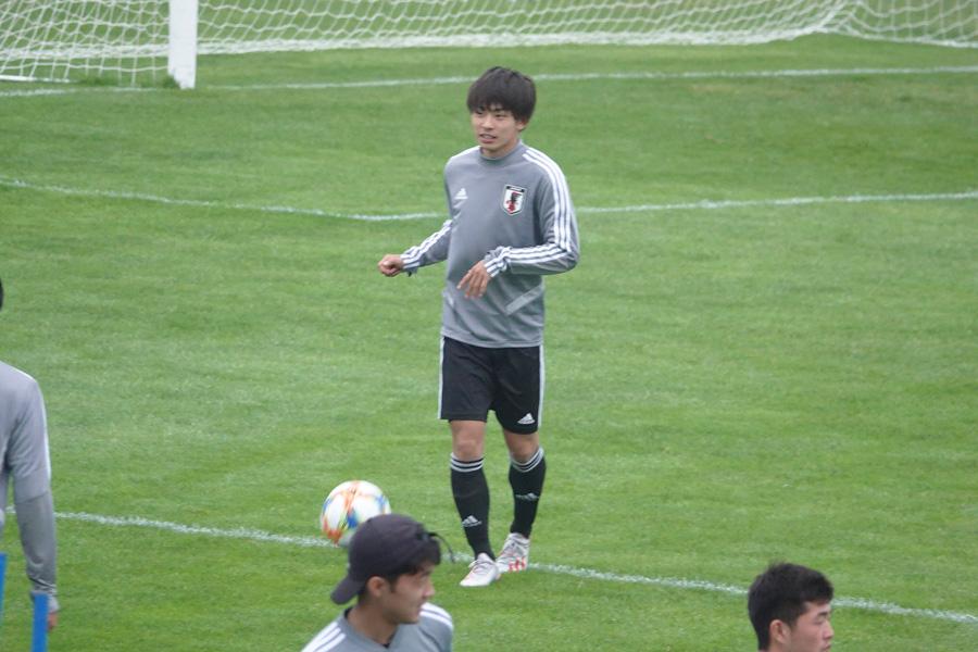 U-20日本代表FW斉藤光毅【写真:林遼平】