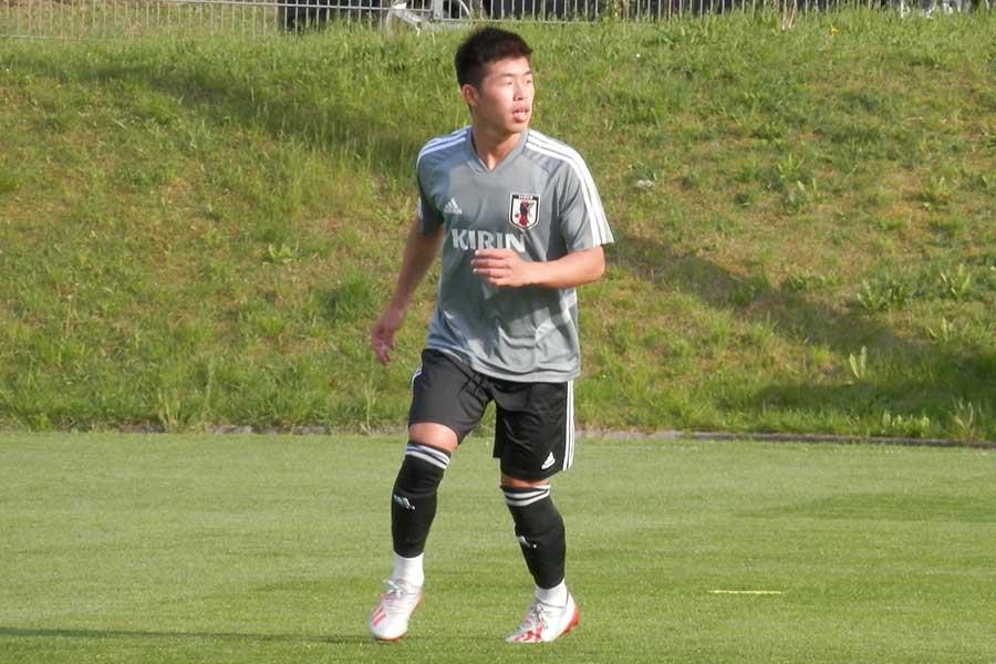 U-20日本代表のDF鈴木冬一【写真:林遼平】