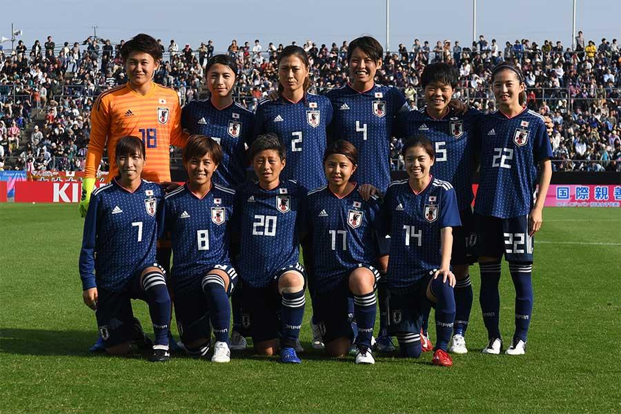 なでしこジャパンを率いる高倉麻子監督は、5月10日にフランス女子ワールドカップに臨むメンバー23名を発表した【写真:Getty Images】