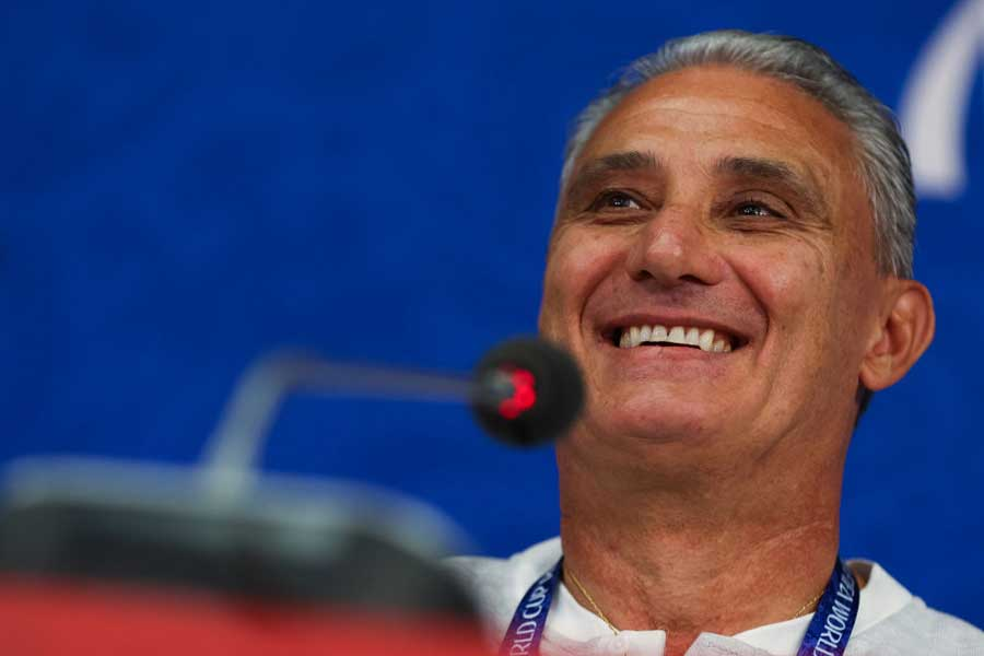 セルビアを破って決勝T進出を果たしたブラジル、チッチ監督も安堵しているようだ【写真:Getty Images】