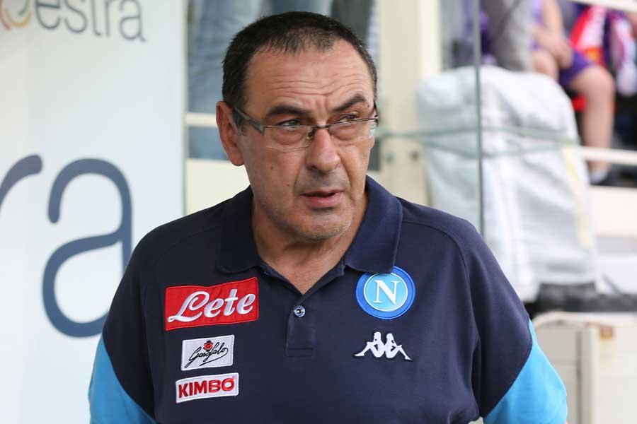 チェルシーが来季監督の最有力とされてきた、ナポリのサッリ前監督との契約を見送る可能性が浮上している【写真:Getty Images】