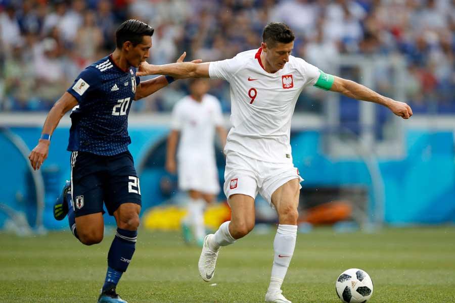 日本はポーランドに敗れるも、2位で決勝T進出を決めた【写真:Getty Images】