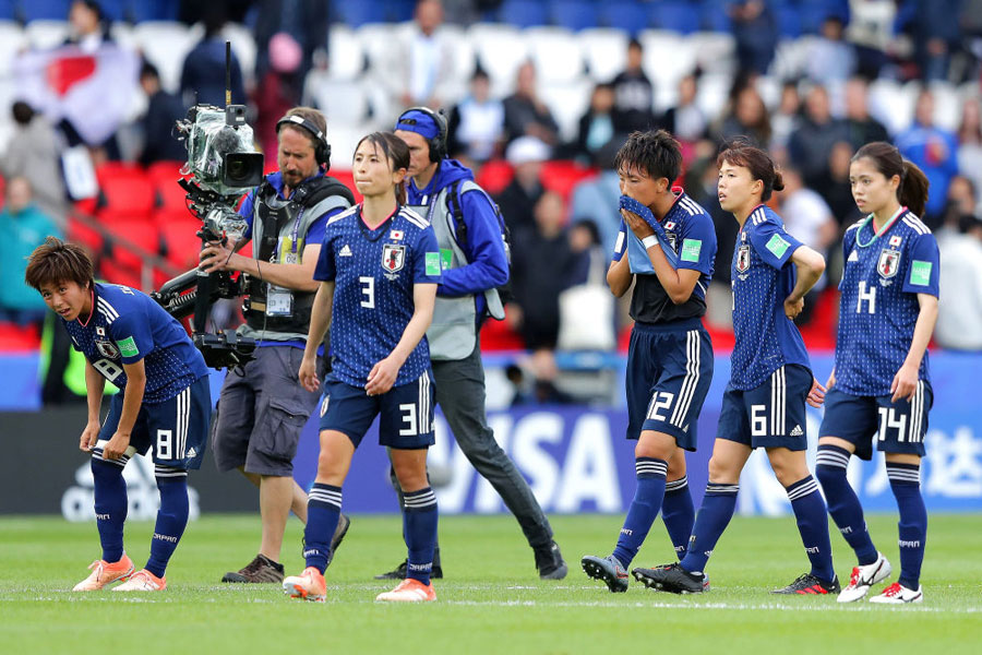なでしこジャパンのW杯初戦は、0-0の引き分けに終わった【写真:Getty Images】