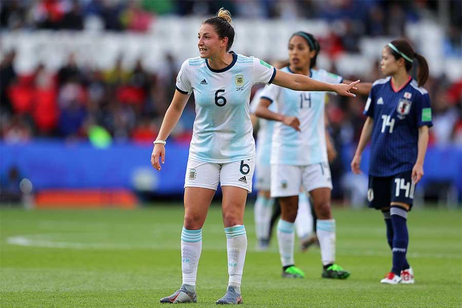 アルゼンチン女子代表のDFアルダナ・コメッティ【写真:Getty Images】