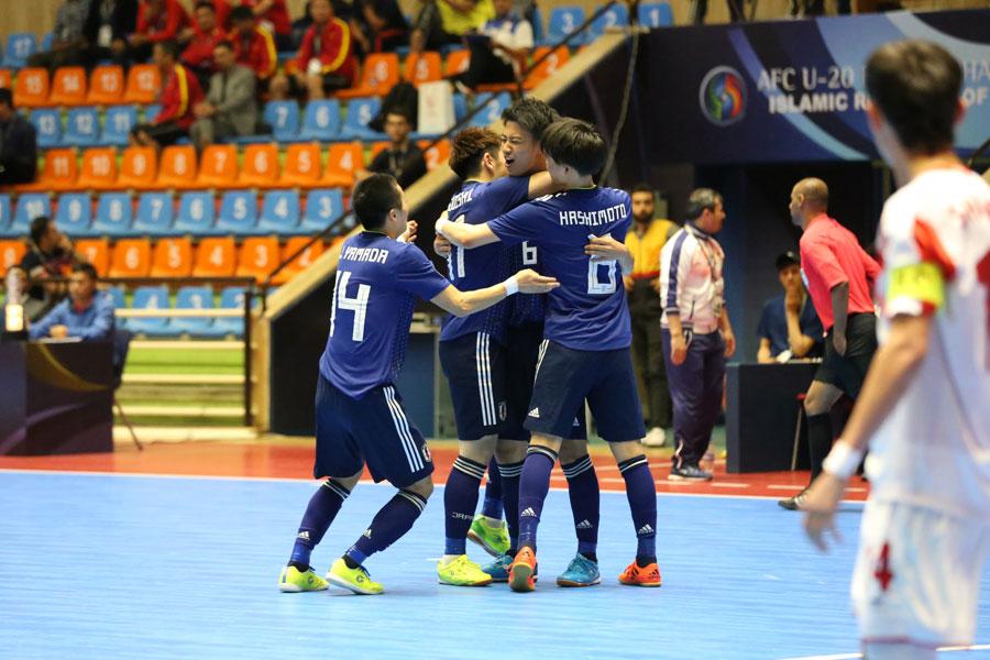 アジア制覇を目指すU-20フットサル日本代表が白星発進!【写真:河合拓/Futsal X】