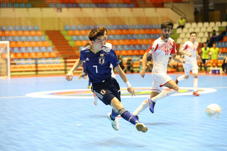 2点目を決めたFP髙橋裕大【写真:河合拓/Futsal X】