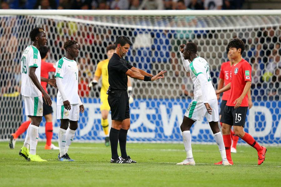 "U-20W杯準々決勝、韓国対セネガルでは""ぬか喜び""の連続に…【写真:Getty Images】"