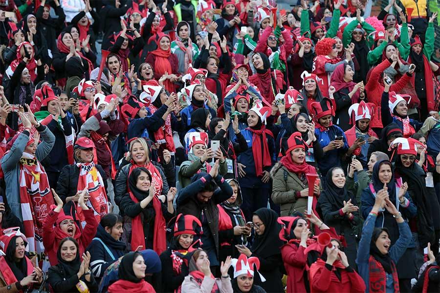 昨年のACL決勝では何百人もの女性が観戦したが...【写真:Getty Images】
