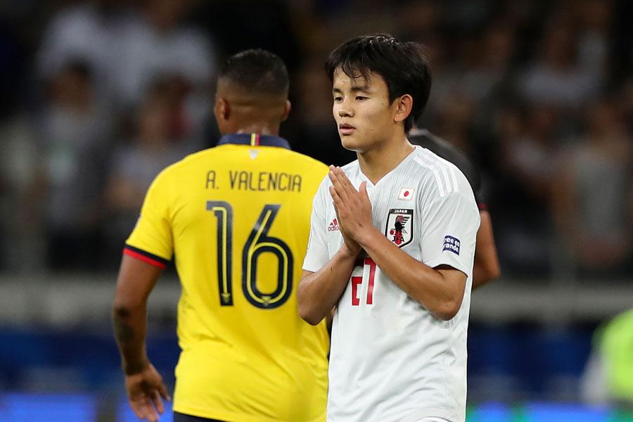 日本代表MF久保建英【写真:AP】