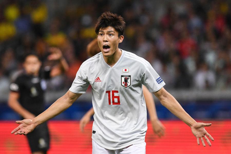 ボローニャ加入が決定した日本代表DF冨安【写真:Getty Images】
