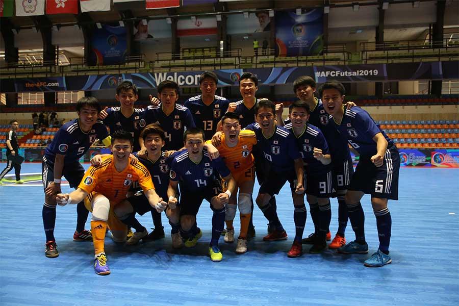日本は2連勝でグループCの首位通過を決めた【写真:河合拓/Futsal X】