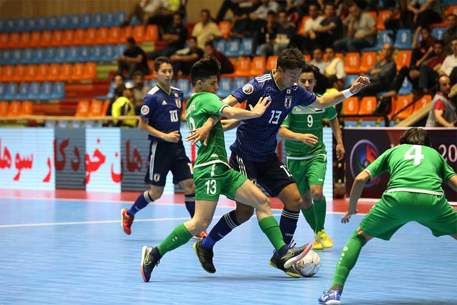 U-20フットサル日本代表が初のベスト4進出を決めた【写真:河合拓/Futsal X】