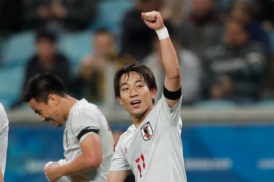 横浜F・マリノスの日本代表MF三好【写真:AP】