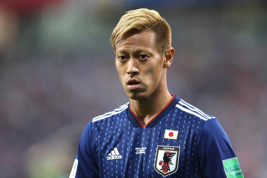 ベルギー戦敗退から一夜、本田が自身のツイッターに思いを綴った【写真:Getty Images】
