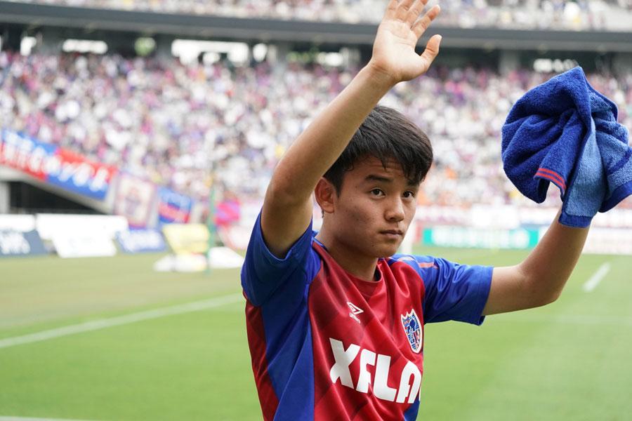 FC東京からレアル・マドリードに移籍したMF久保建英【写真:高橋学】