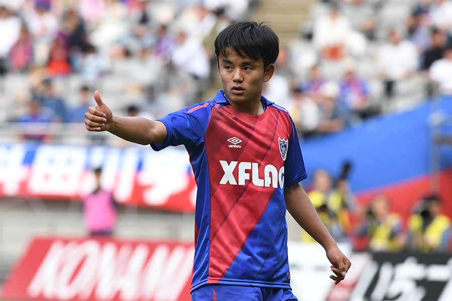 FC東京からレアル・マドリードに移籍したMF久保建英【写真:Getty Images】