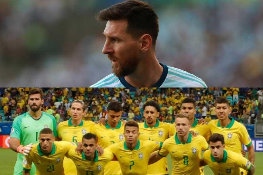 コパ・アメリカ準決勝で激突するアルゼンチンとブラジル【写真:Getty Images】