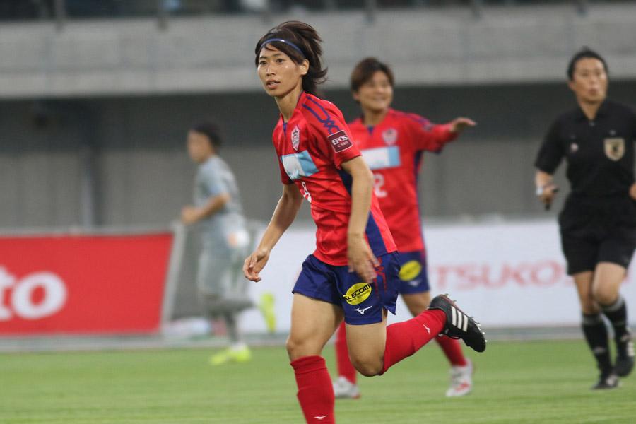 ノジマステラの野田監督が、田中陽子は重要な存在だったと語った【写真:Football ZONE web】