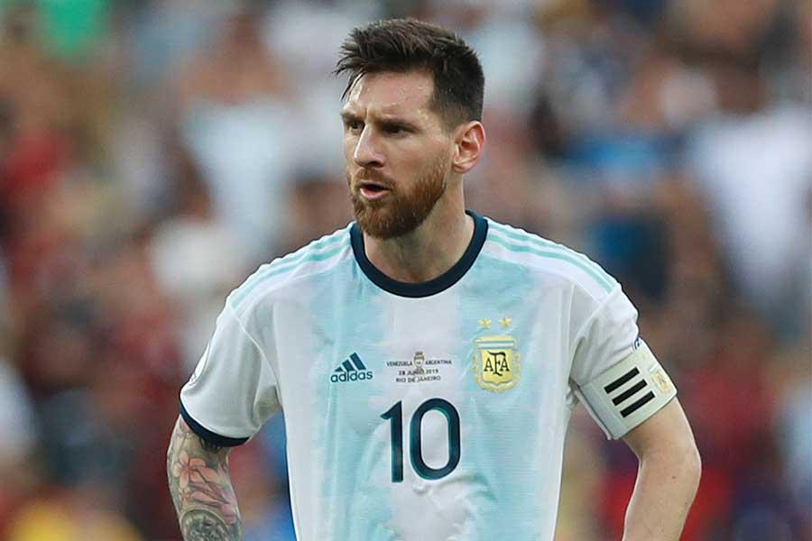 アルゼンチン代表FWメッシ【写真:Getty Images】
