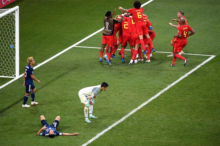 """ベルギーが見せた""""高速カウンター""""をベルギーメディアが回想している【写真:Getty Images】"""
