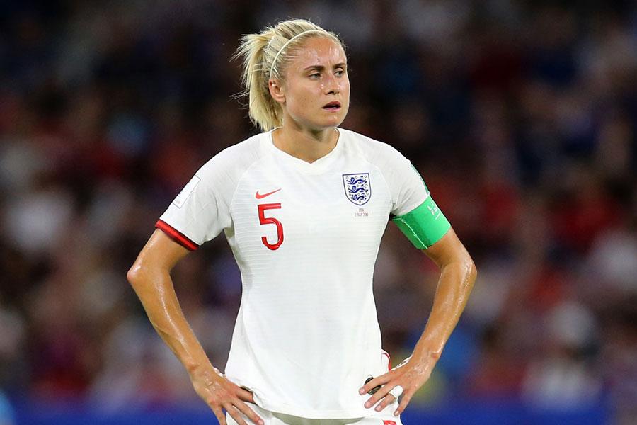 イングランド女子代表キャプテンのDFホートン【写真:Getty Images】