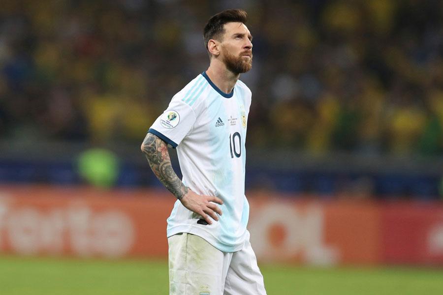 アルゼンチン代表FWメッシ【写真:AP】