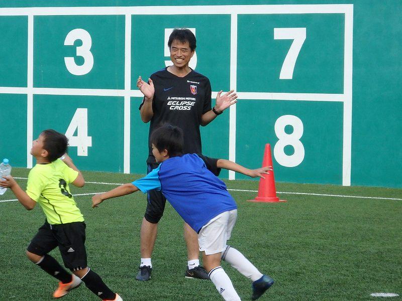 情熱とアイデア、飽くなき探求心が旺盛な福島ヘッドコーチ【写真:河野正】