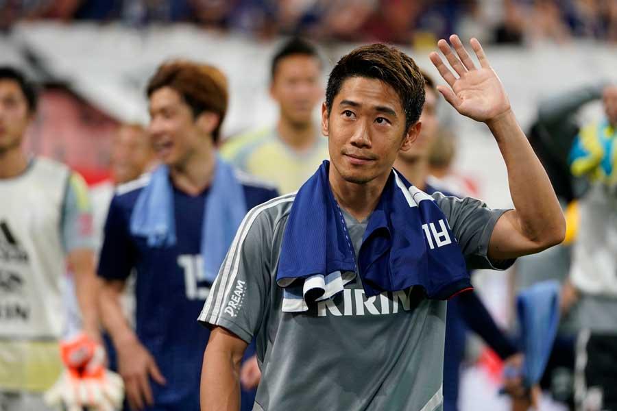 去就が騒がれる日本代表MF香川真司【写真:Getty Images】