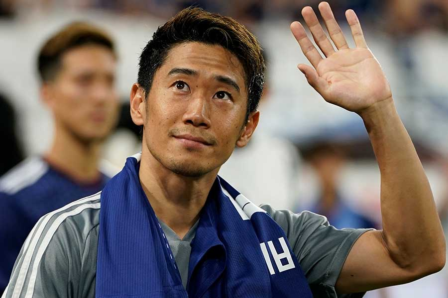 日本代表MF香川真司【写真:Getty Images】