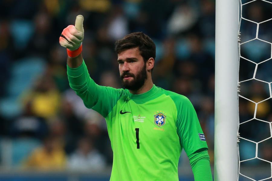 ブラジル代表GKアリソン【写真:Getty Images】