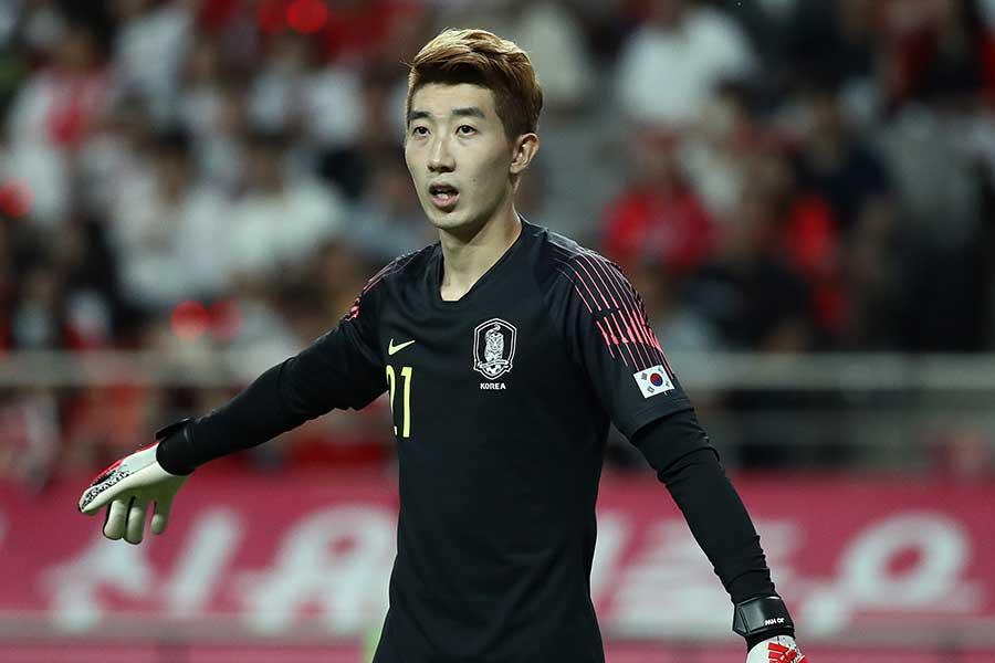 韓国代表GKチョ・ヒョヌ【写真:Getty Images】