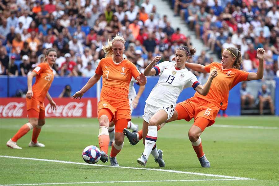 米国vsオランダは0-0で後半へ【写真:Getty Images】