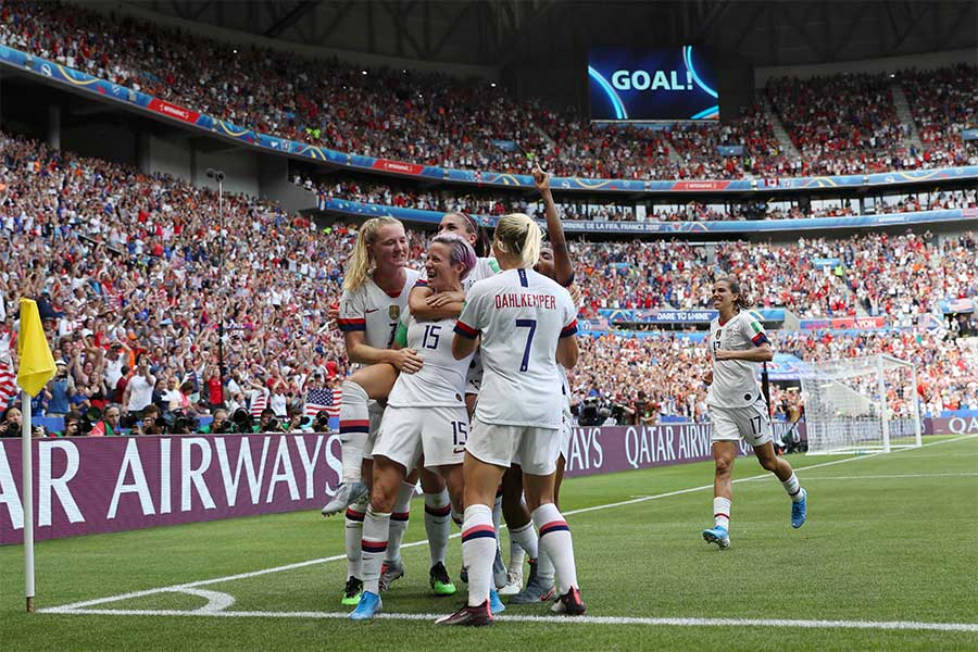 アメリカがオランダを2-0で破り、通算4度目のW杯優勝を達成【写真:Getty Images】