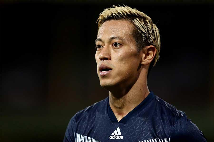本田の新天地はどこのチームになるのだろうか【写真:Getty Images】