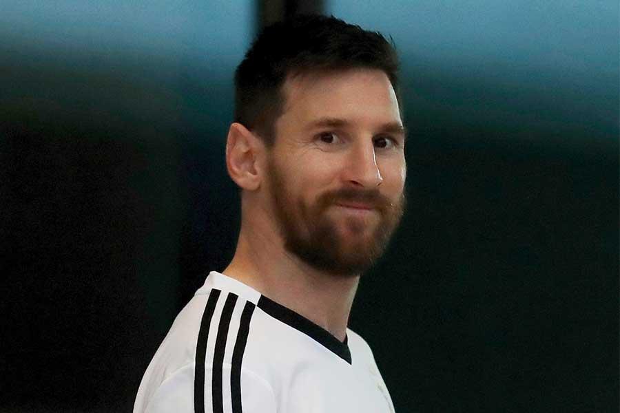 バルセロナのアルゼンチン代表FWリオネル・メッシ【写真:AP】