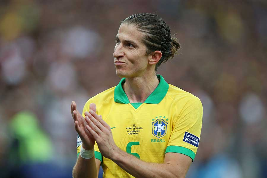 ブラジル代表DFフィリペ・ルイス【写真:Getty Images】