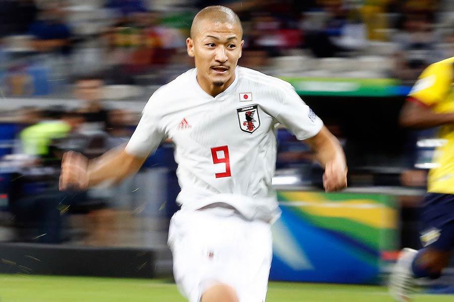 ポルトガル1部マリティモへの移籍が決まったFW前田大然【写真:Copa America】