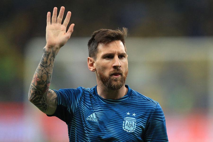 バルセロナのアルゼンチン代表FWメッシ【写真:Getty Images】