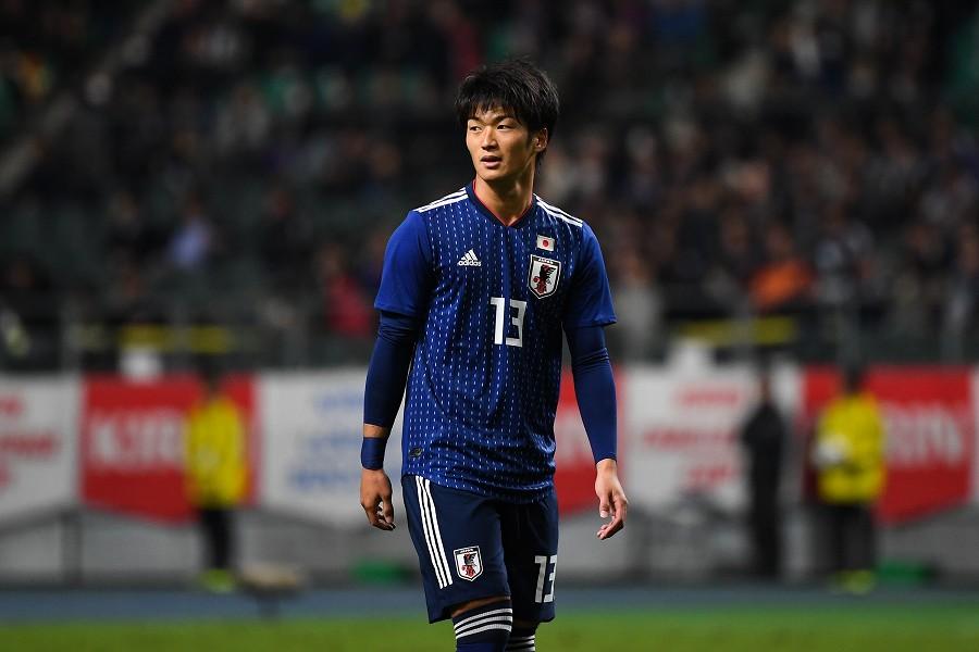 オーストリア移籍が決まった日本代表FW北川航也【写真:Getty Images】
